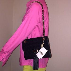 Aimee Kestenberg Bags - NWT Aimee Kestenberg Black velvet purse
